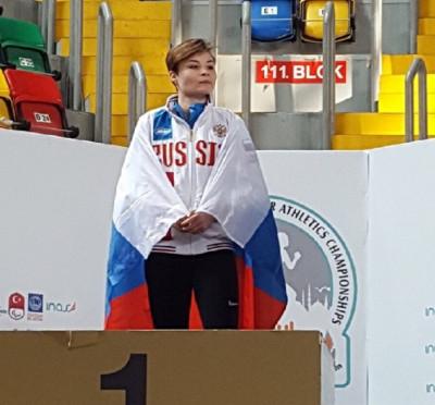 Калининградка выиграла медали чемпионата Европы по адаптивной атлетике