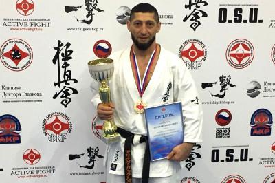 Каратист из Калининграда выиграл чемпионат России среди ветеранов