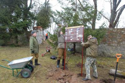 В Пятидорожном установили исторические информационные стенды