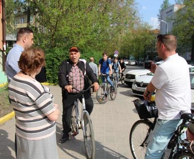 Планы по строительству велодорожек обсуждаются с велосипедистами