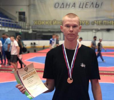 Боец тхэквондо из Калининграда стал бронзовым призёром