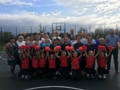 Открыта спортивная площадка в рамках проекта «Детский спорт»