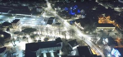 В Калининградской области продолжается модернизация уличного освещения