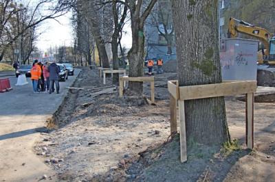 Ремонт а Комсомольской в Калининграде вступил в завершающую стадию
