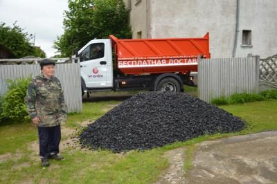 Единороссы Правдинска приняли участие в акции «Уголь ветеранам»