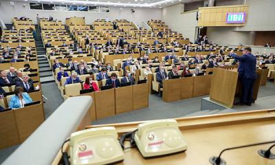 """Поправки """"Единой России"""" об """"удалёнке"""" приняты в первом чтении"""