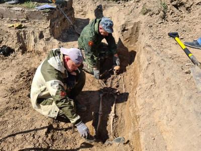 «Историческая память»: Поисковики обнаружили воинское захоронение
