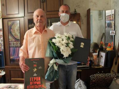 В Багратионовске свой День Рождения празднует ветеран ВОВ