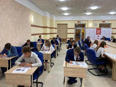 "Андрей Кропоткин написал ""Диктант Победы"""