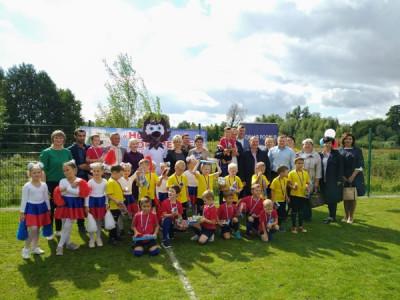 В Советске открылась детская футбольная площадка