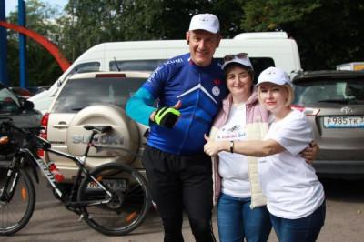 Единороссы Советска приняли участие в ежегодном велопробеге