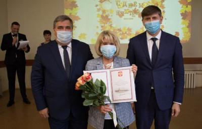 Андрей Кропоткин поздравил учителей с праздником