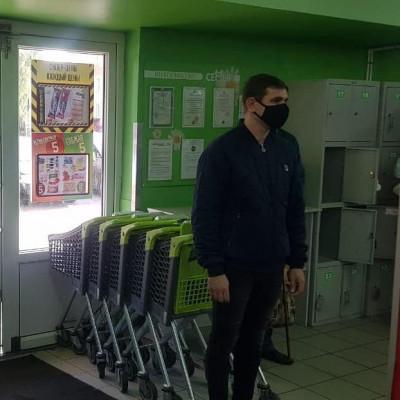 """""""Народный контроль"""" проверяет масочный режим в магазинах Калининграда"""