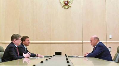 «Единая Россия» обсудила с Мишустиным проект бюджета