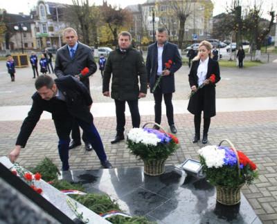 В Гусеве единороссы почтили память погибших в Первой Мировой войне