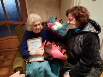 Единороссы Советска поздравили ветерана с 95-летием