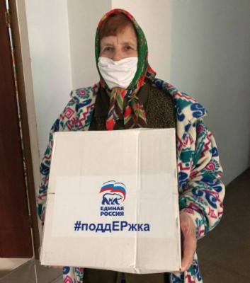 В Нестерове волонтёры доставляют продуктовые наборы нуждающимся