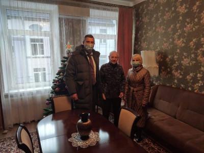 В Советске единороссы поздравили старейшего члена партии