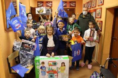 Единороссы Багратионовска навестили Центр помощи детям «Колосок»