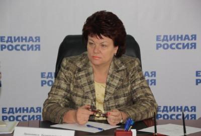 Марина Оргеева рассказала о работе депутатов регионального парламента