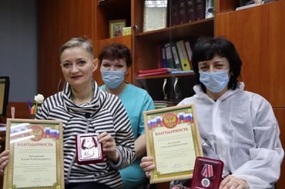 Единороссы Советска поздравили женщин-врачей с праздником