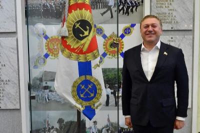Александр Ярошук встретился с будущими офицерами ВМФ России