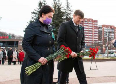 Единороссы почтили память героев штурма Кёнигсберга