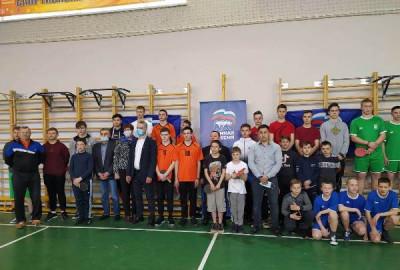 В Немане «Единая Россия» организовала чемпионат по настольному теннису