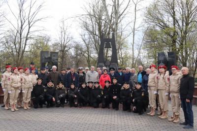 Единороссы Гусева приняли участие в памятных мероприятиях