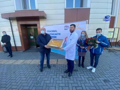 «Единая Россия» поздравила сотрудников БСМП с праздником