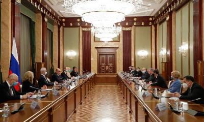 Правительство поддержало предложения «Единой России»