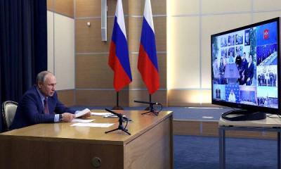 Владимир Путин встретился с кандидатами в Думу от «Единой России»