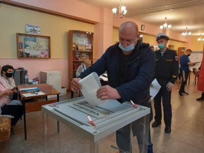 На избирательных участках соблюдаются все санитарные нормы